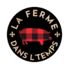 logo-la ferme dans l'temps - rond